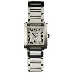 This is my FAVORITE Cartier watch. It is so simple that I can wear it every day.