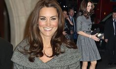 The Duchess of Cambridge looked buoyed and confident as she embarked on her first solo engagement since joining the royal family at the National Portrait Gallery in London.