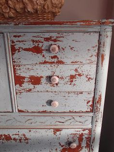 Chippy Dresser / by D.D.'s Cottage and Design / Miss Mustard Seed's Milk Paint