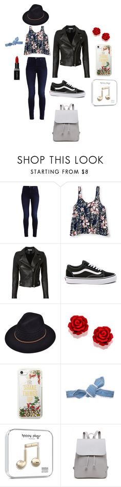 """""""New York New Me"""" by cinnamonjack ❤ liked on Polyvore featuring Aéropostale, IRO, Vans, Kate Spade, Colette Malouf and Smashbox"""