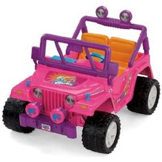Barbie Jeep. I had this when I was little!!