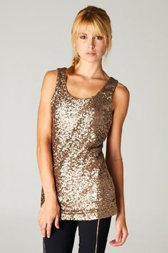 Sequin Allie Top