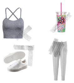 """""""#63"""" by thewaterdemon ❤ liked on Polyvore featuring Beyond Yoga and Puma"""