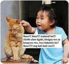 15 ideas humor funny memes pets for 2019 Memes Humor, Funny Mom Memes, Memes Funny Faces, Funny Pranks, Hilarious, Filipino Memes, Filipino Funny, Cartoon Jokes, Funny Cartoons