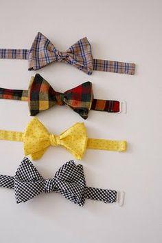 Dyi bow ties tie bow tie tutorial, bowtie pattern и diy bow Sewing Tutorials, Sewing Hacks, Sewing Crafts, Sewing Projects, Sewing Patterns, Sewing Ideas, Sewing For Kids, Baby Sewing, Bow Tie Tutorial