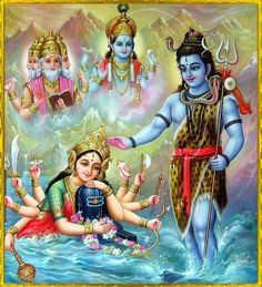 Maa Durga and The TriDev