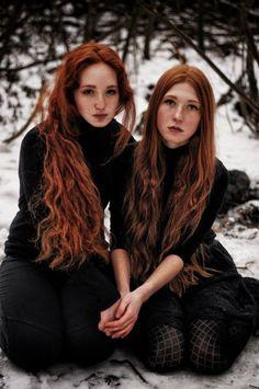 Gudrun and Hjördis Axeldottir Solveig, (god's secret lore, sword goddess, daughters of Axel, house of strength) slaves to Atheer Oaïssa