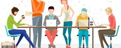 How Millennials Are Changing The Workplace. Here are a few of the biggest trends in the modern workplace. A hat at work, millennials say why not! Internet Marketing, Social Media Marketing, Digital Marketing, Email Marketing, Site Website, Applications Android, Web Design, Flat Design, Logo Design