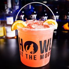 Check out Howl at the Moon's drinks selections. Looking to book a party? We can host all types of parties and events: bachelor parties, bachelorette parties, corporate events, holiday parties, birthday parties and more. Party Drinks Alcohol, Drinks Alcohol Recipes, Cocktail Recipes, Alcoholic Drinks, Cocktails, Beach Drinks, Summer Drinks, Party Venues, Event Venues