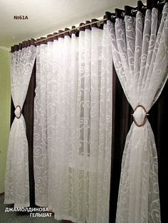 Diy beauty room decor curtains 67 ideas for 2019 Diy Beauty Room Decor, Beauty Salon Decor, Diy Home Decor Bedroom, Hanging Curtains, Sheer Curtains, Drapes Curtains, Curtain Styles, Curtain Designs, Cortinas Country