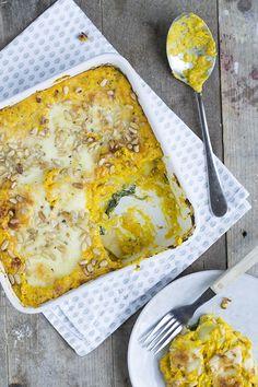 lasagne-met-pompoen -> gemaakt en goedgekeurd ! Zeer lekker !