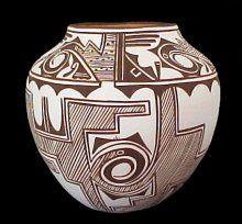 Southwest Indian bowl