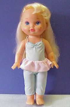 I loved this doll... pretty sure I left her in the sun though and the makeup got stuck in full-hooker mode.