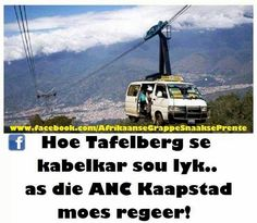 Afrikaans Quotes, Diy Garden Projects, Twisted Humor, Cape Town, South Africa, Road Trip, Funny Pictures, Jokes, 60th Birthday
