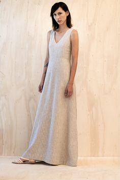 13VE05 - Vestido Macramê