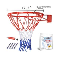 Fixture Displays Wall Mounted Classic Basketball Rim Basketball Backboard Basketball Hoop Basketball Goal 16937