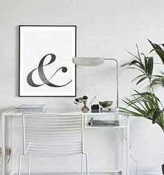 Ampersand art printable Ampersand art Download by MyDreamWall