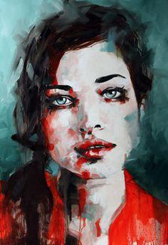 """Saatchi Art Artist Paul Bennett; Painting, """"Watch Me Now"""" #art (LL)"""