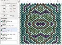 Beading: Peyote Stitch Pattern 17