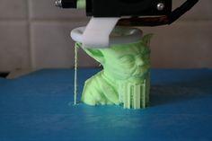 3D Printer, Yoda, http://www.thingiverse.com/thing:10650