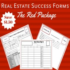 the red package real estate form keller williams