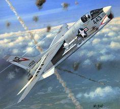 F-8E Crusader, Vietnam War (Iain Wyllie)