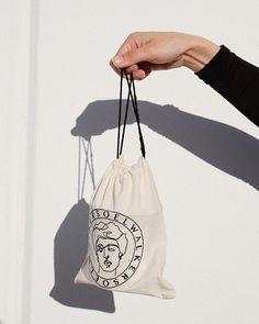 Soelwalker Drawstring Bags Discovered By Hellohellostudio Vintage Packaging Ideas Brand