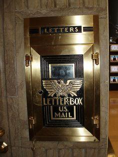 Art Deco Mail Box by Joanna Paterson, via Flickr