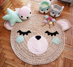Resultado de imagen para alfombras tejidas con totora