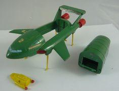 Original Dinky 101 issue Thunderbird 2 with rare Gerry Anderson box