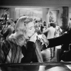 "nitratediva: ""Lizabeth Scott in Dead Reckoning (1947). """
