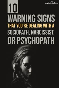Warning signs you are hookup a sociopath