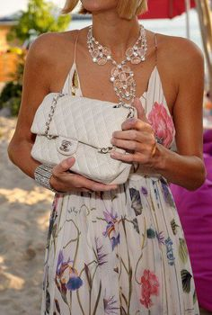 """Chanel. Who says I cannot have few Chanel bags in different colors??? Nobody does!!! Not even myself!!....    ................My style statement: """"On matters of style, swim with the current, on matters of principle, stand like a rock."""" ― Thomas Jefferson"""