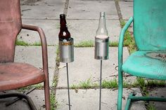 Hobo Tin Can Beer Holders ($30/ 2pack)