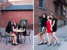 Bachelorette Party Theme Idea :: Urban Alley (have a photoshoot in an urban grunge location)