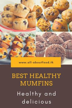 Muffins contain a healthy source nutrients that carry significant health benefits, which make it a preferred choice. Provide high amounts of antioxidants and may lower your risk for heart disease and cancer.So I choose for you this muffins.