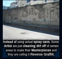 A new twist on street art!