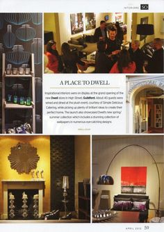 A place to dwell... dwells Guildford store launch in SO Surrey magazine