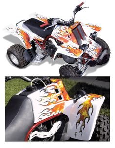 Yamaha Banshee Graphics by InvisionArtworks.com