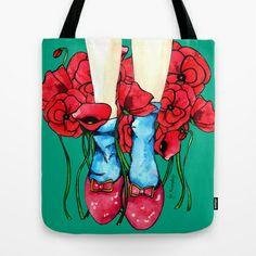 Not in Kansas Anymore... Tote Bag by Juliana Rumple - $22.00