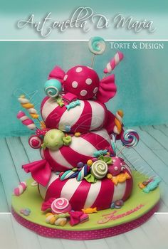 Antonella Di Maria Sweet Cakes Crazy Birthday Fancy