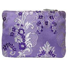 Mini bolso #portatodo de seda marca fallera ® Realizado con tela de seda valenciana de color morado http://fallera.com/es/bolsos/bc001024-detail