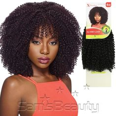 $5.99 Outre Synthetic Hair Crochet Braids X-Pression Braid Big Beautiful Hair 4A-Kinky Loop - SamsBeauty