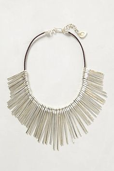 {Root-Needles Necklace} @Anthropologie