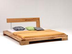 Wood Bed Design, Bed Frame Design, Bedroom Bed Design, Bedroom Furniture Design, Home Decor Furniture, Modern Wood Bed, Bedroom Frames, Diy Bett, Diy Furniture Easy