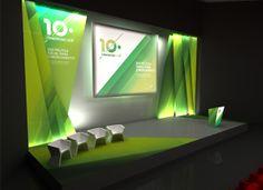 Set Design 10th ANF Congress by Inês Camilo, via Behance