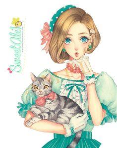 Manga Anime, Manga Girl, Anime Art, Character Inspiration, Character Art, Character Design, Manga Illustration, Character Illustration, Anime Kunst