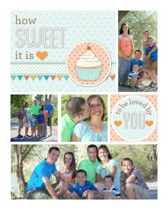 Family Photos 1 by Cassie TEMPLATE: 114341 By Cassie Balser 16 x 20 Wrapped Canvas Personalize this sweet canvas with photos of those you lo...