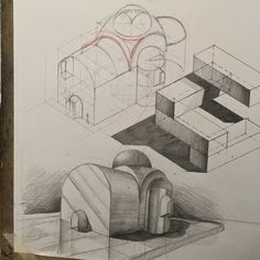 #design #drawing #architecture #art #sketching #buildings #perspective…