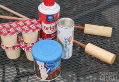Campfire Eclairs Recipe (Woof 'Ems) How to make woof ems or campfire eclairs Camping Desserts, No Cook Desserts, Camping Meals, Camping Recipes, Camping Cooking, Camping Hacks, Camping Dishes, Family Camping, Vegetarian Camping